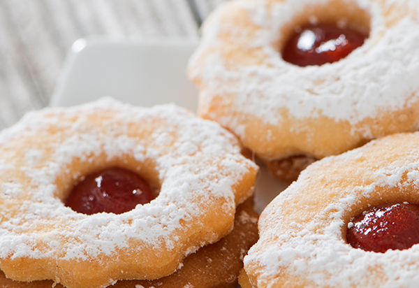 Linzer Cookies with HERO Red Currant
